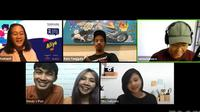 Sejumlah pembicara berkisah alasan mereka keluar dari zona nyaman dalam acara PechaKucha Night Jakarta (Dok.YouTube/Maverick)