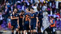 Kemenangan terakhir Valencia lawan Real Sociedad diduga sudah diatur (OSCAR DEL POZO / AFP)