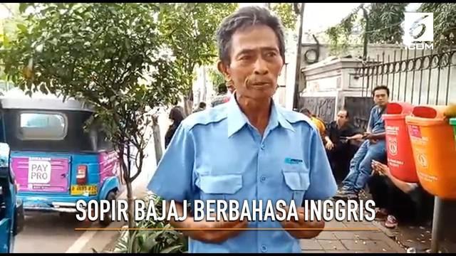 Tarnedy, seorang sopir taksi yang sempat viral karena menggunakan Bahasa Inggris saat melayani para pelanggannya. Begini kehidupannya sekarang.