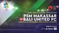 PSM MAKASSAR vs Bali United