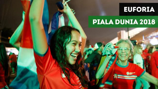 Berita video mengenai euforia lolosnya Kosta Rika masuk ke putaran final Piala Dunia 2018