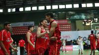 Pacific Caesar Surabaya sempat kesulitan menghadapi Siliwangi Bandung pada seri keenam IBL 2017-2018 di Yogyakarta. (IBL)