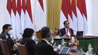 Presiden Jokowi dalam Major of Economies on Energy and Climate 2021