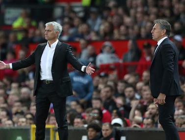 Beda Gaya Manajer Manchester United dan Leicester City Semangati Pemain