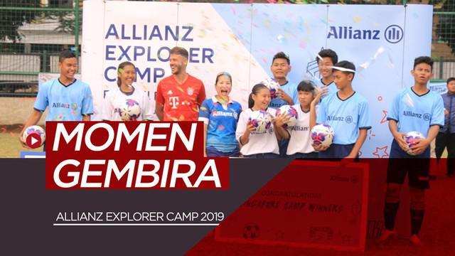 Berita video momen kegembiraan di Allianz Explorer Camp 2019, di mana ada 8 anak Indonesia yang bakal merasakan camp di Munich, Jerman (2 anak); dan Singapura (6 anak).
