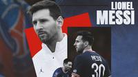 PSG - Ilustrasi Lionel Messi (Bola.com/Adreanus Titus)
