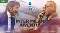 Serie A - Inter Milan Vs Juventus - Head to Head Pelatih (Bola.com/Adreanus Titus)