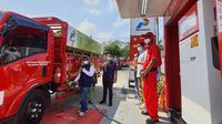 Untuk pertama kalinya di Regional Jawa Bagian Tengah, Pertashop yang menyalurkan produk BBM mesin diesel atau jenis gasoil, yaitu Dexlite resmi beroperasi.