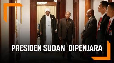 Nasib Presiden Sudan Pasca Dilengserkan, Digiring ke Penjara