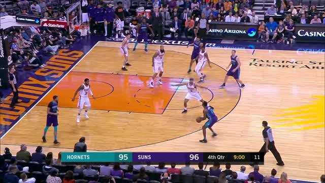 Berita video game recap NBA 2017-2018 antaraCharlotte Hornets melawan Phoenix Suns dengan skor 115-110.