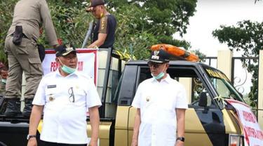 Wakil Wali Kota Bukittinggi, Iswandi terindikasi terjangkit virus corona Covid-19 setelah menjalani rapid tes.