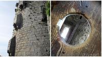 Potret Toilet Pada Abad Pertengahan di Kastil (sumber:Twitter/@HistoriDunia)