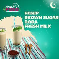 Segarnya Brown Sugar Boba Fresh Milk, Pas untuk Berbuka Puasa