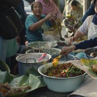 Hidangan khas yougyakarta (Foto: Street food)