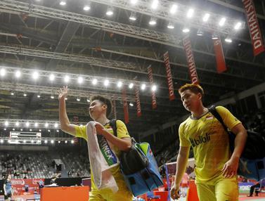 Indonesia Masters 2018 :Kevin Sanjaya/Marcus Gideon Vs Tinn Isriyanet/Kittisak Namdash
