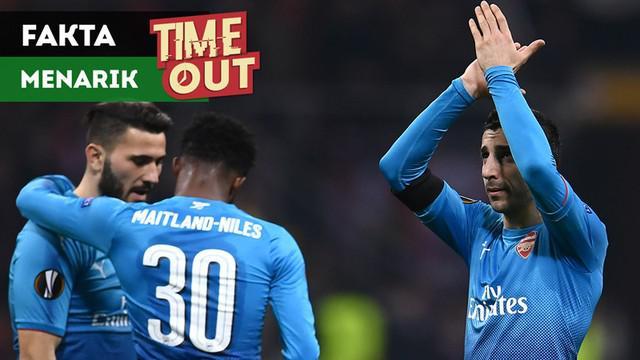 Berita video TIme Out kali ini tentang fakta-fakta menarik usai Arsenal kalahkan AC Milan 2-0 pada leg pertama 16 Besar Liga Europa 2017-2018.