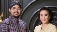 Pasangan Bendara Pangeran Harya (BPH) Kusumo Bimantoro dan Maya Lakshita Noorya akan menjalani Dhaup Ageng (pernikahan agung) yang akan digelar di Pura Pakualaman. (dok. pakualaman.id/Dinny Mutiah)