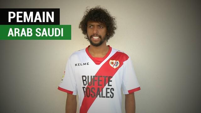 Berita video klub Spanyol, Rayo Vallecano, perkenalkan pemain barunya yang berasal dari Arab Saudi, Abdulmajeed Al-Sulaiheem.