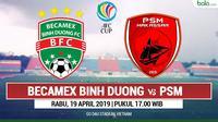 AFC CUP - Becamex Binh Duong Vs PSM Makassar (Bola.com/Adreanus Titus)
