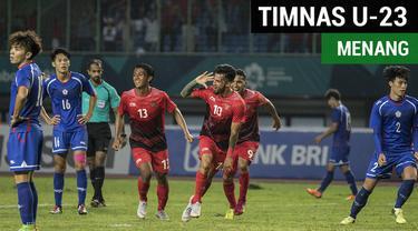Berita Video Terpopuler 2018.Highlights Sepak Bola Putra, Chinese Taipei Vs Timnas Indonesia 0-4