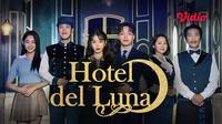 Serial Drama Korea Hotel del Luna kini dapat ditonton di platfrom streaming Vidio. (Sumber: Vidio)