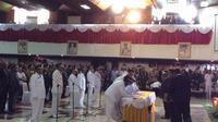 Gubernur Papua melantik 6 pasangan bupati dan wakil bupati (Liputan6.com/ Katharina Janur)