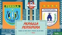Shopee Liga 1 - Persela Lamongan Vs Persipura Jayapura (Bola.com/Adreanus Titus)