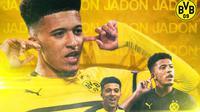 Borussia Dortmund - Jadon Sancho (Bola.com/Adreanus Titus)