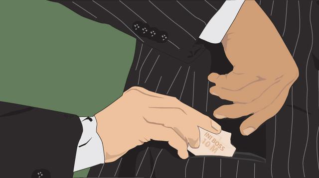 Ilustrasi Kasus Suap (Liputan6.com/Johan Fatzry)
