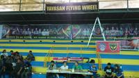 Flying Wheel Makassar memiliki misi mulai dalam pengembangan basket di Makassar. (Bola.com/Andhika Putra)