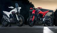 Honda CB125X dan Honda C125M Concept. (Overdrive)