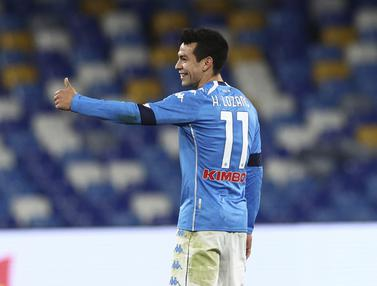 Napoli Tembus Semifinal Coppa Italia