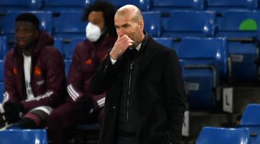 FOTO: 6 Fakta Menarik di Balik Kemenangan 2-0 Chelsea atas Real Madrid - Zinedine Zidane