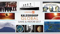 Banyak peristiwa besar terjadi sepanjang tahun 2017, antara lain dari dunia politik, sains, hingga sejarah. (Liputan6.com)