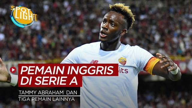 Berita video spotlight kali ini membahas tentang deretan pemain asal Inggris yang bermain di klub Serie A saat ini.