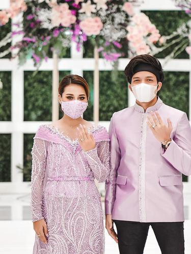 Lamaran Atta Halilintar dan Aurel Hermansyah. (Foto: Instagram @attahalilintar)
