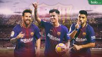 Barcelona Formasi Coutinho (Bola.com/Adreanus Titus)