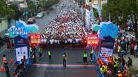 Surabaya Marathon 2018 (Foto:Liputan6.com/Dian Kurniawan)