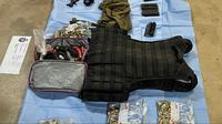 Barang bukti kejahatan mafia di Australia. Dok: AFP via ABC Australia