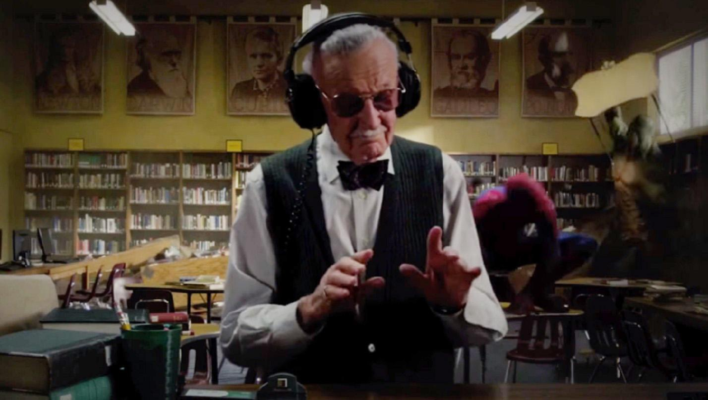 Cameo Stan Lee dalam The Amazing Spider-Man (YouTube)