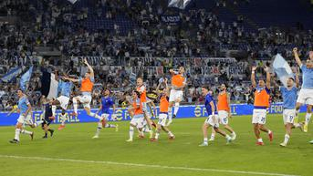FOTO: Drama Lima Gol, Lazio Kalahkan AS Roma