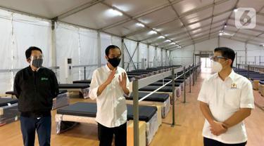 Dikunjungi Jokowi, Rumah Oksigen Gotong Royong Beroperasi Agustus