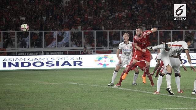 Persija Jakarta berhasil keluar sebagai juara Piala Presiden 2018 usai membantai Bali United 3-0 pada laga final di Stadion Utama Gelora Bung Karno, Senayan, Jakarta.