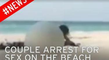Pakai Kamera Ponsel, Nenek Nekat Rekam Aktivitas Seks di Pantai