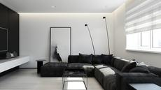 Pilihan kombinasi warna monokrom akan menghadirkan kesan elegan, lux, dan futuristik dalam rumah Anda, apalagi bila dikombinasikan dengan penggunaan furnitur minimalis.(home-designing.com)