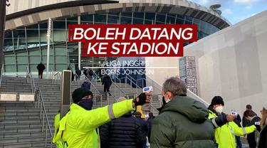 Berita Video Perdana Menteri Boris Johson Izinkan Suporter Liga Inggris Kembali ke Stadion