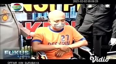 Satreskrim Polres Kediri, Jawa Timur, menangkap pelaku perampokan disertai pembunuhan, yang menewaskan seorang sopir taksi daring. Kepada polisi, pelaku berdalih merampok karena terhimpit hutang.