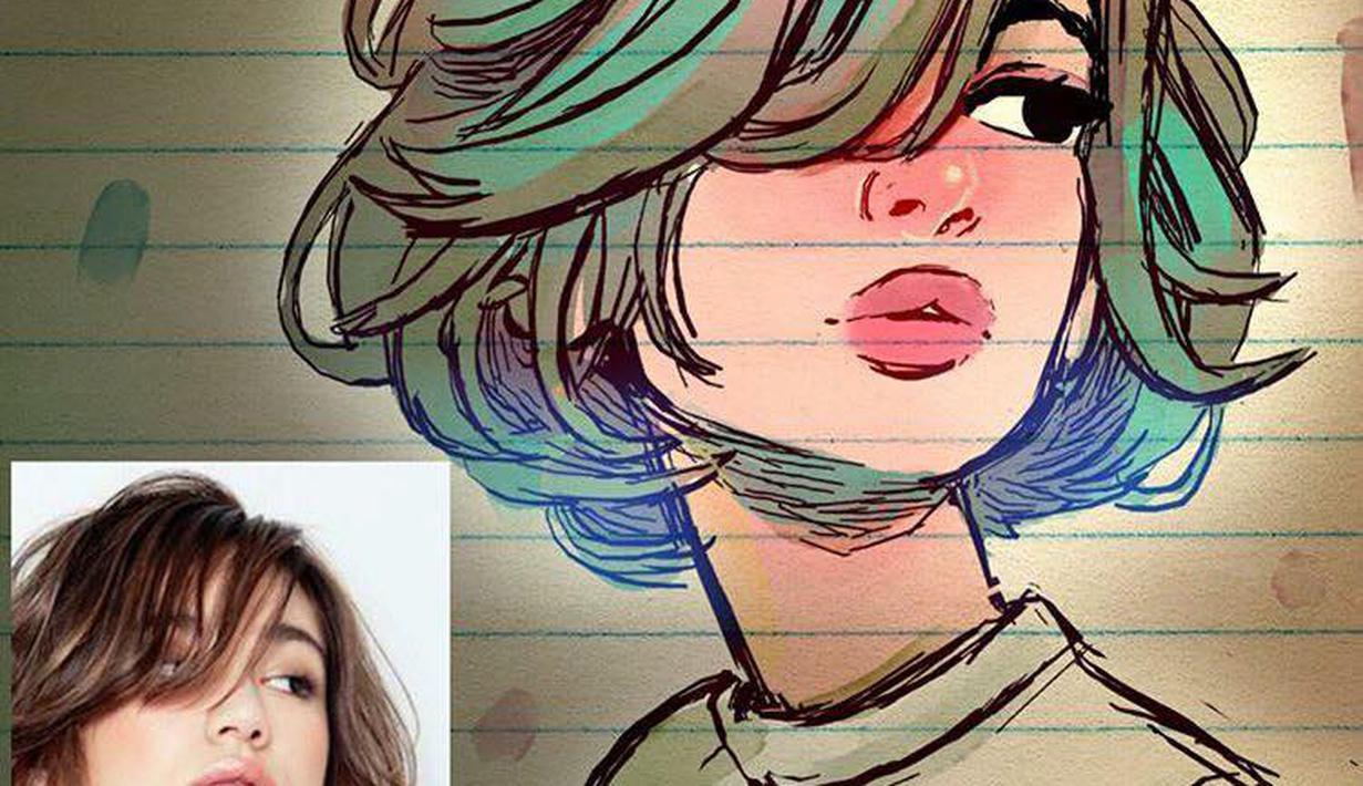 100 Gambar Animasi Keren Perempuan