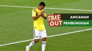 Berita video Time Out tentang 3 pemain Kolombia yang menerima ancaman pembunuhan di Piala Dunia 2018.