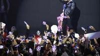 Acara jumpa penggemar Avengers: Endgame di Seoul, Korea Selatan (AP Photo/Ahn Young-joon)